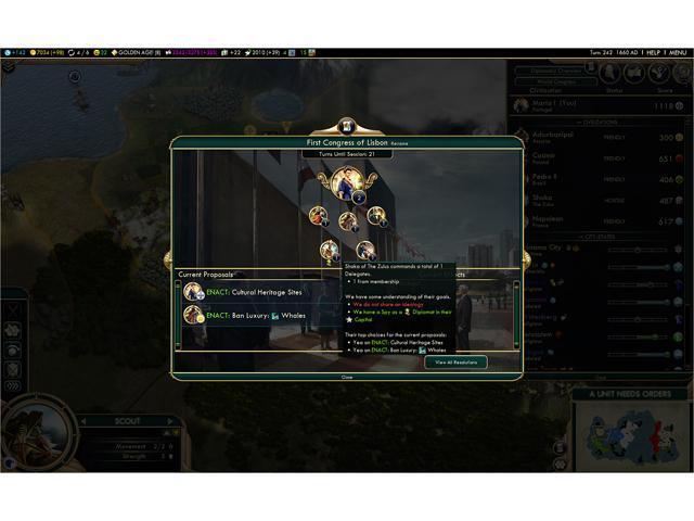 Sid Meier's Civilization V: Brave New World [Online Game Code] - Newegg com