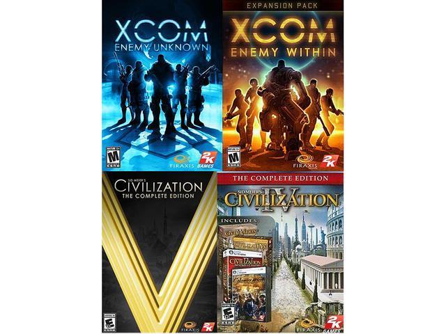 Firaxis Complete Pack (XCOM EU Complete, Civ IV Complete, Civ 5 Complete)  [Online Game Codes] - Newegg com