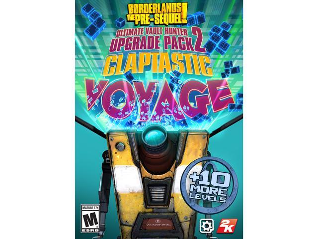 Borderlands: The Pre-Sequel DLC 4: Claptastic Voyage and Ultimate Vault  Hunter Upgrade Pack 2 [Online Game Code] - Newegg ca