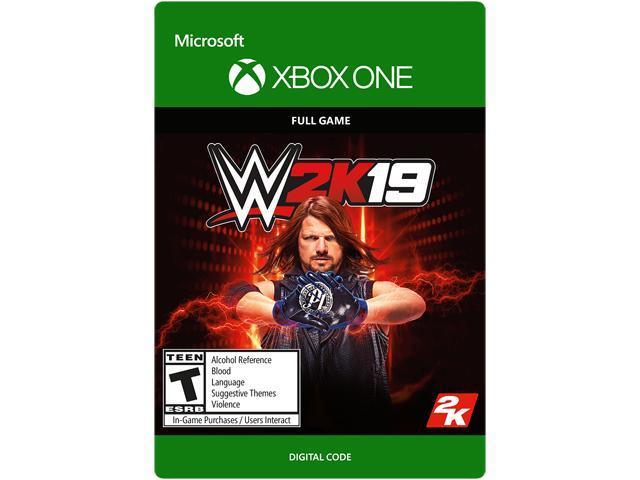 WWE 2K19 Xbox One [Digital Code] - Newegg com