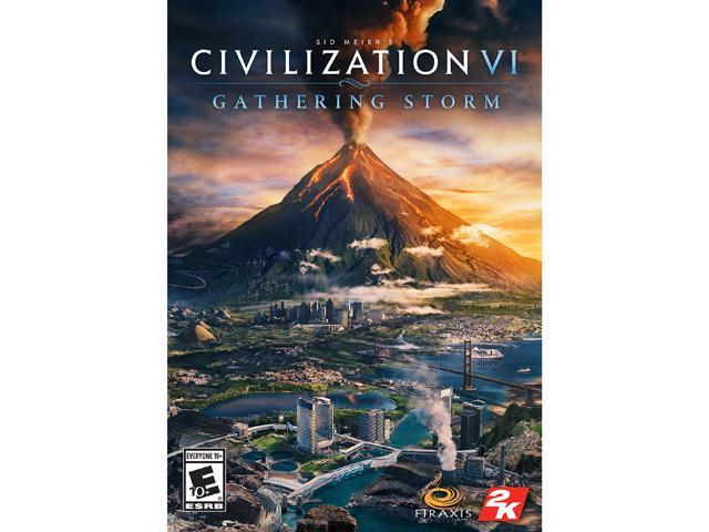 Sid Meier's Civilization VI: Gathering Storm [Online Game Code] - Newegg com