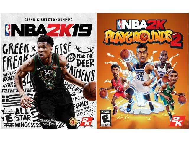 NBA 2K19 + NBA 2K Playgrounds 2 Bundle [Online Game Code] - Newegg com