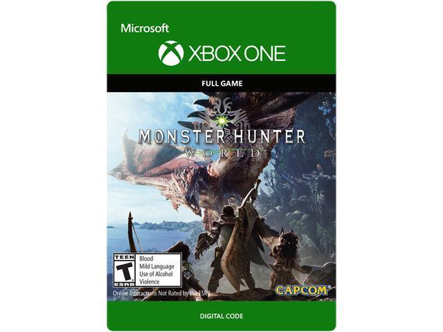 Monster Hunter: World Xbox One [Digital Code] - Newegg com