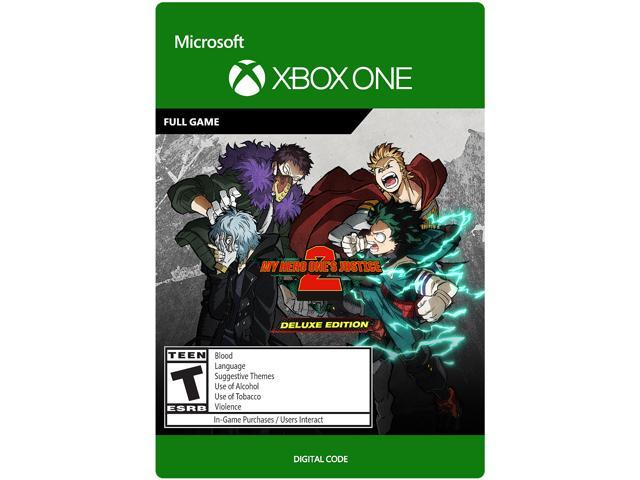 My Hero One S Justice 2 Deluxe Edition Xbox One Digital Code
