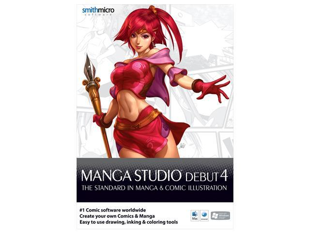 SmithMicro Manga Studio Debut 4.0 Software - Newegg.com