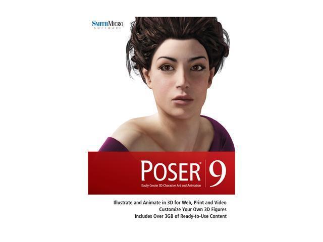 SmithMicro Poser 9 Software - Newegg com