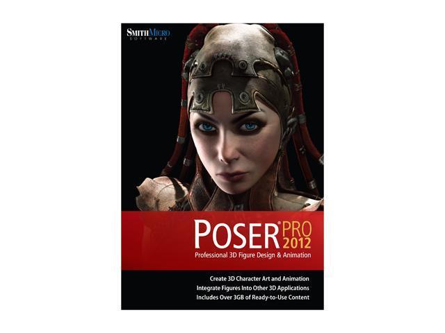 SmithMicro Poser Pro 2012 Software - Newegg com
