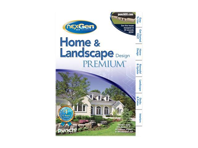 Punch software home landscape design premium nexgen3 software for Punch home and landscape design premium
