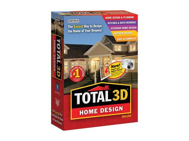 Individual Software Total 3D Home Design Deluxe