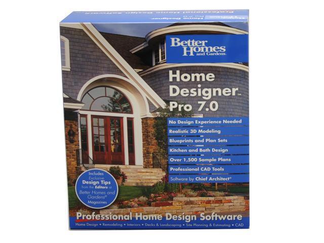 Better Homes And Gardens Home Designer Pro 7 0 Newegg Com
