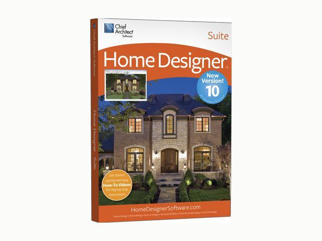 Chief Architect Home Designer SUITE 10 Software - Newegg com