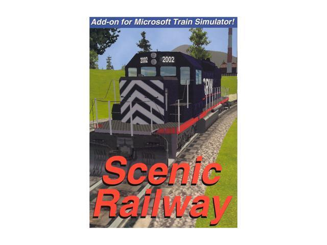 Scenic Railway Add-on For Microsoft Train Simulator PC Game - Newegg com