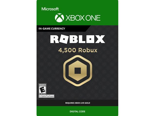 4 500 Robux For Xbox One Digital Code Newegg Com