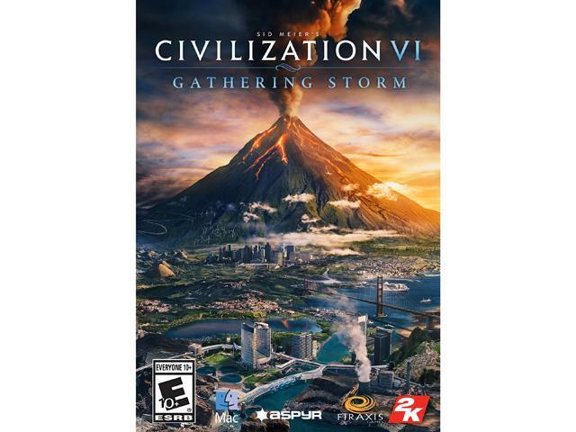 Sid Meier's Civilization VI: Gathering Storm (MAC) [Online Game Code] -  Newegg com