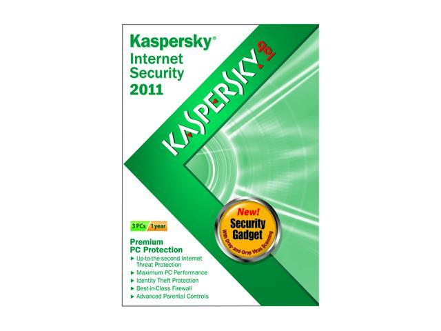 Kaspersky Internet Security 2011 - 3 User