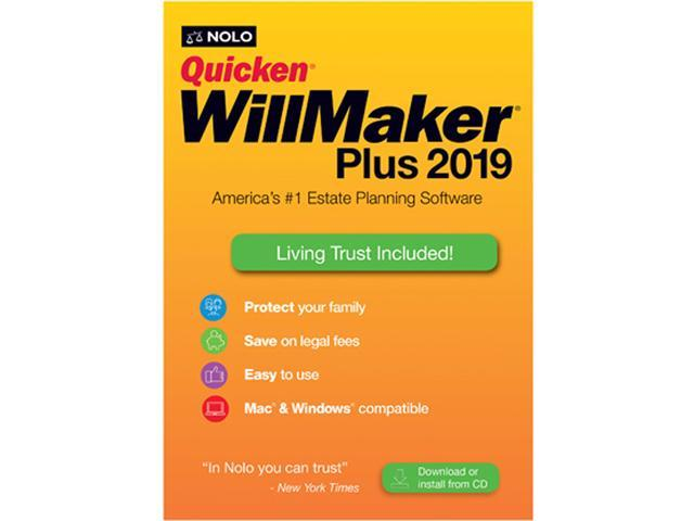 Nolo Quicken WillMaker Plus 2019 Office & Accounting