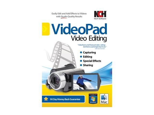 NCH Software VideoPad Video Editing Audio & Video Editing Software -  Newegg com