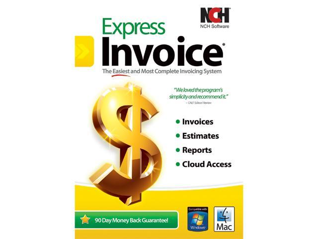 NCH Software Express Invoice Neweggca - Invoice software nch