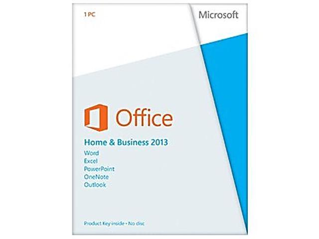 Microsoft Office Home and Business 2013 Product Key Card - 1 PC ...