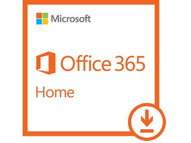 Microsoft Office 365 Home - 5 Devices, 1 Year Subscription ...