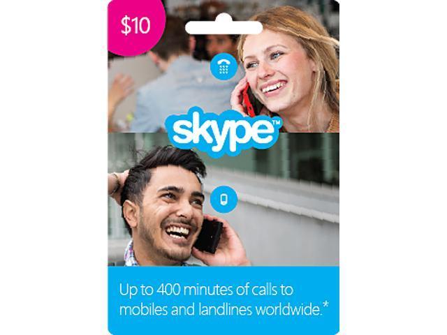 Skype $10 Prepaid Credit - Newegg com
