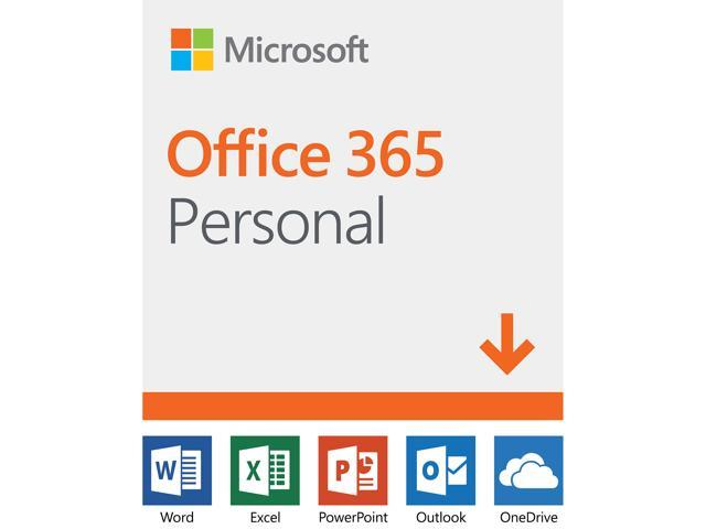 Microsoft Office 365 Personal | 12-month subscription, 1 person, PC/Mac  Download - Newegg com