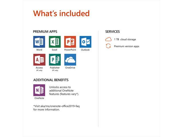 Microsoft Office 365 Personal | 12-month subscription, 1