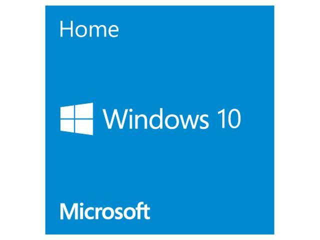 Windows 10 Home - 64-bit - OEM