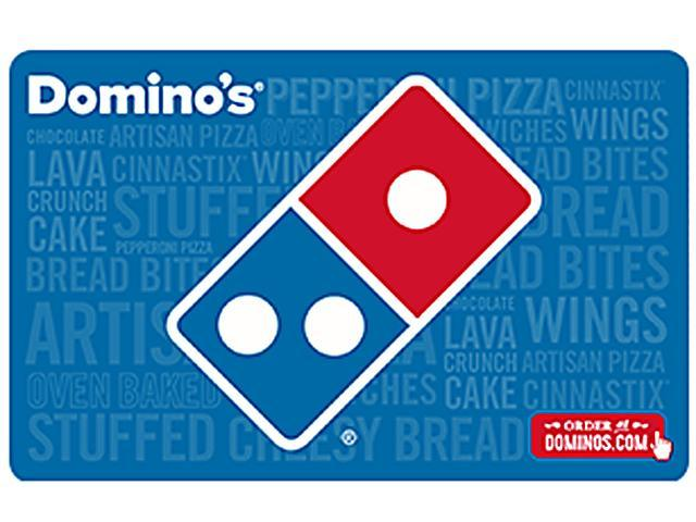 Dominos 35 Gift Card Email Delivery Newegg