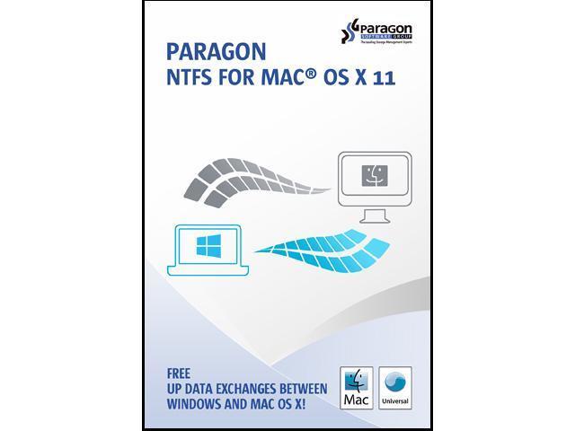 Paragon NTFS for Mac OS X 11 - Newegg com