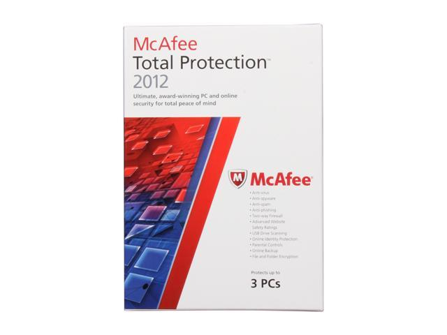 McAfee Total Protection 2012 - 3 PCs