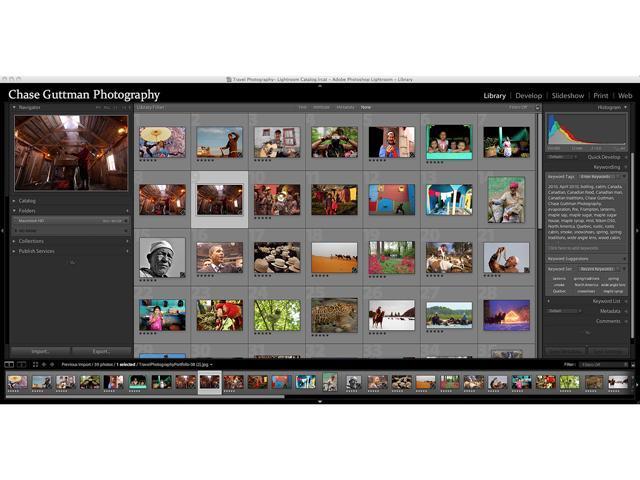 Adobe Photoshop Lightroom 5 for Windows & Mac - Full Version - Newegg com