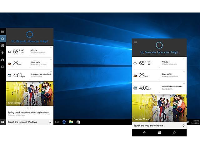 Microsoft Windows 10 Professional - Full Retail Version 32 & 64-Bit  (Download) - Newegg com