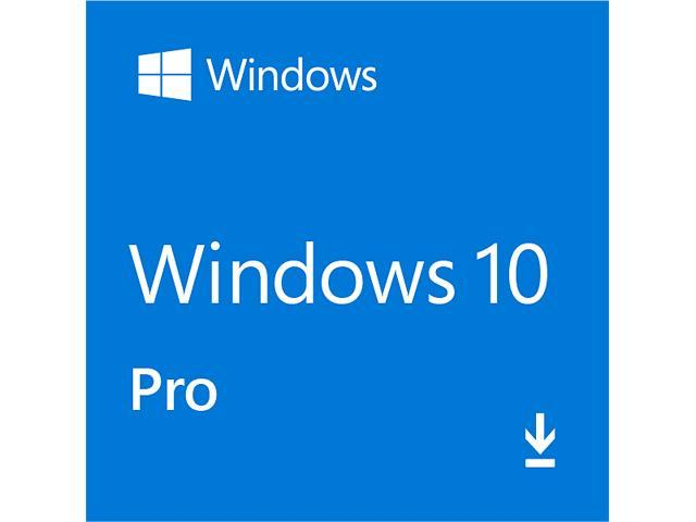 Microsoft Windows 10 Professional - Full Retail Version 32 & 64-Bit  (Download) - Newegg com