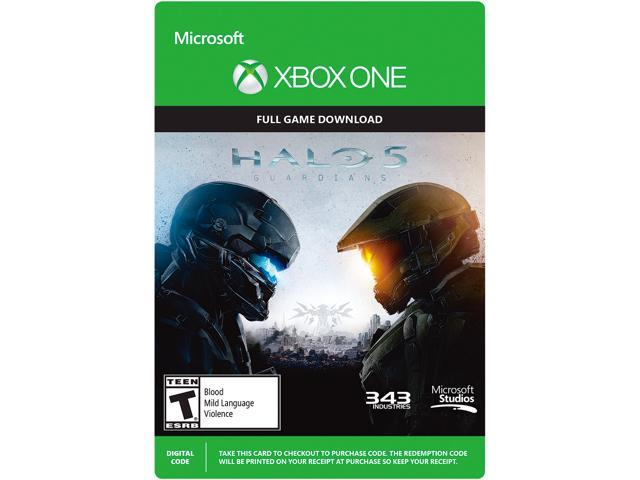 Halo 5 Guardians Standard Edition - Xbox One [Digital Code] - Newegg com