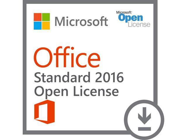 microsoft office std  Microsoft Office Standard 2016 - License - 1 PC - MOLP: Open ...