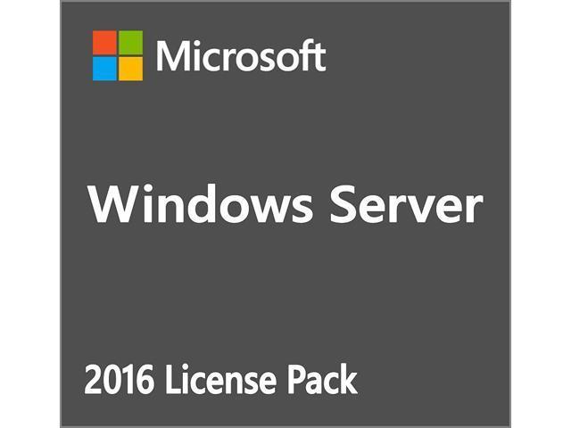 Microsoft Windows Server 2016 Standard Additional License - 16 Core AddOn  Licenses - Newegg com