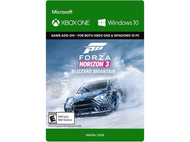 Forza Horizon 3: Blizzard Mountain XBOX ONE / Windows 10 [Digital Code] -  Newegg com