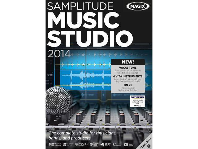 MAGIX Samplitude Music Studio 2014 - Download - Newegg com