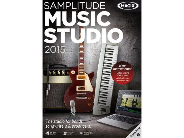 Samplitude Music Studio 2015 - Download - Newegg com
