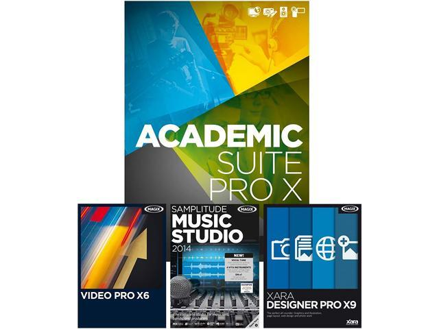 MAGIX Academic Suite Pro X - Download - Newegg com