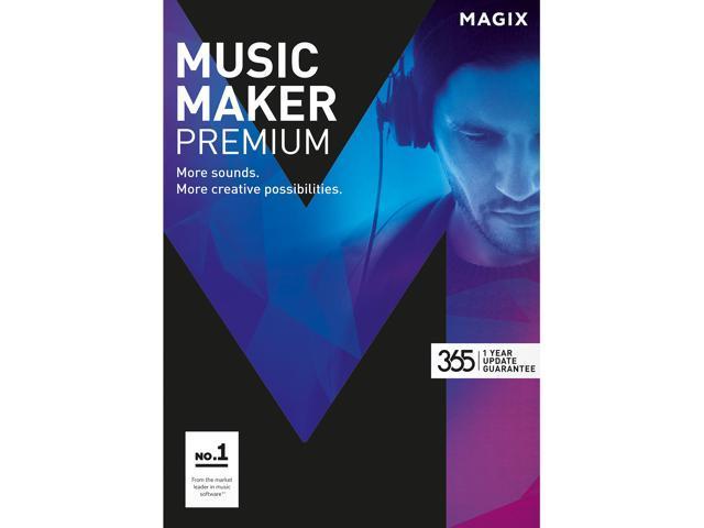 MAGIX Music Maker Premium - Download - Newegg com