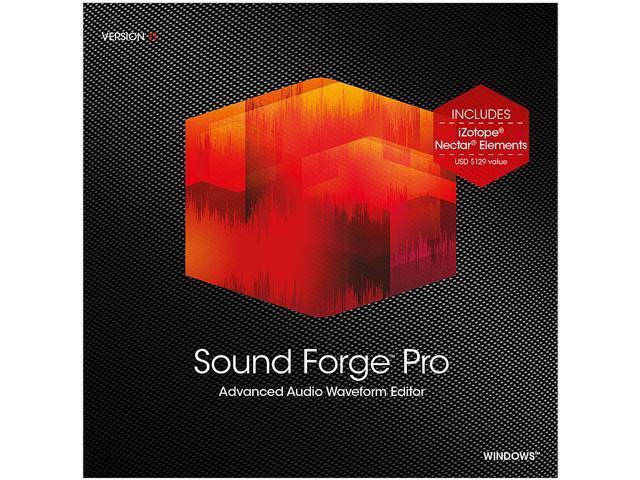 MAGIX Sound Forge Pro - Download - Newegg com