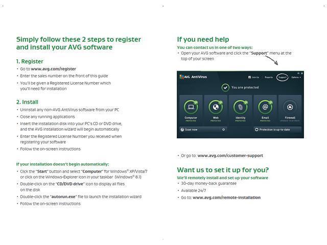 AVG AntiVirus 2015 - 3 PCs / 1 Year - Newegg com