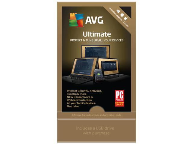 AVG ULTIMATE 2019 FOR UNLIMITED DEVICES 2 YEARS