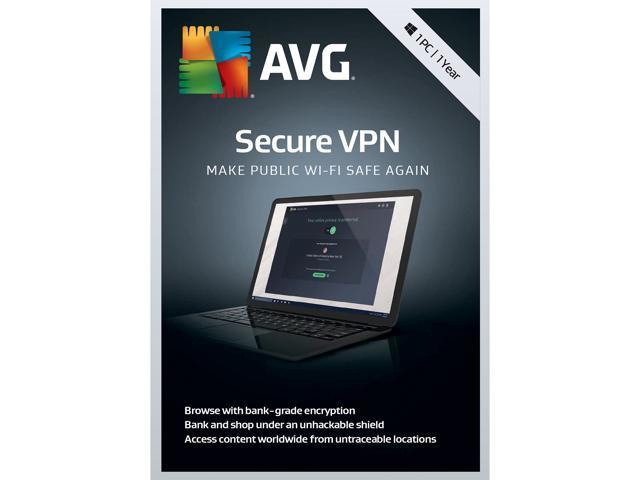 AVG Secure VPN 2019, 1PC 1 Year - Download - Newegg com