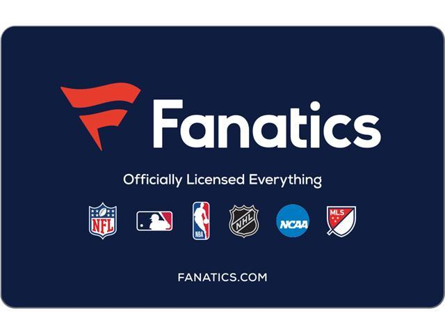 Fanatics $75 Gift Card