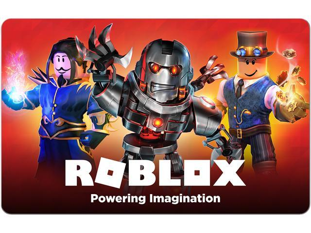 Roblox 25 Gift Card Email Delivery Newegg Com