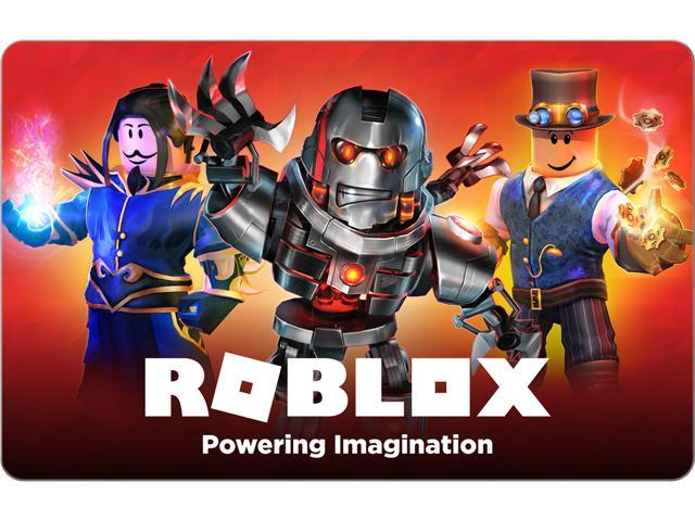 Roblox 50 Gift Card Email Delivery Newegg Com