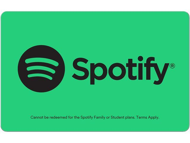 Spotify $10 Gift Card (Email Delivery) - Newegg com
